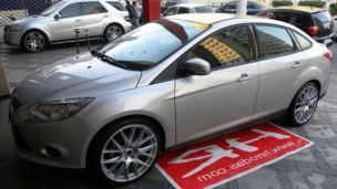Ford Focus Sedan 2013 com rodas   aro 20