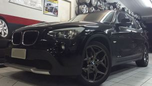 BMW X1 2011 com rodas  BMW Hollywood aro 19