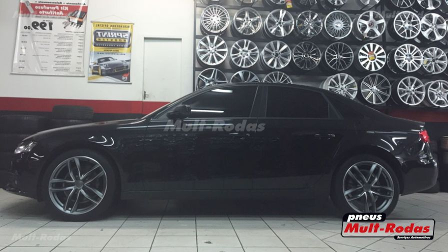 "Audi A4 2010 com rodas HD Wheels Audi RS6 aro 19""  - Foto #1"