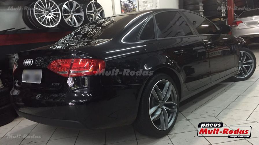 "Audi A4 2010 com rodas HD Wheels Audi RS6 aro 19""  - Foto #3"