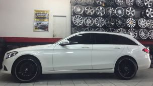 Mercedes-benz C 250 2013 com rodas  HD Raw C63 AMG aro 20