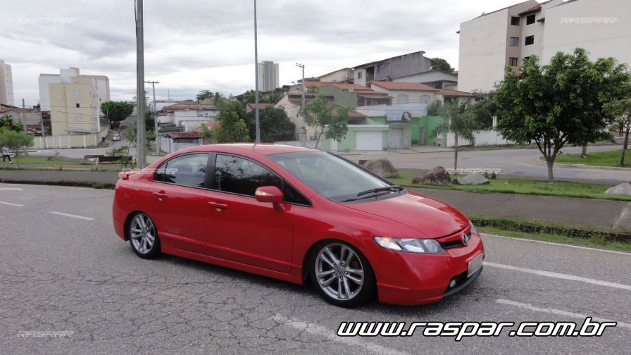 2013 Honda Civic Sedan >> Civic com rodas aro 17