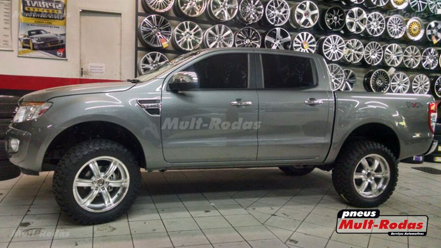 ford ranger 2014 com rodas aro 20 e pneus atturo. Black Bedroom Furniture Sets. Home Design Ideas