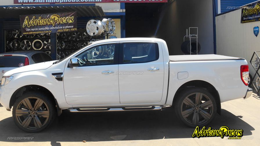 ford ranger 2016 com rodas presenza camaro zl1 aro 24 e pneus 295 35 24. Black Bedroom Furniture Sets. Home Design Ideas
