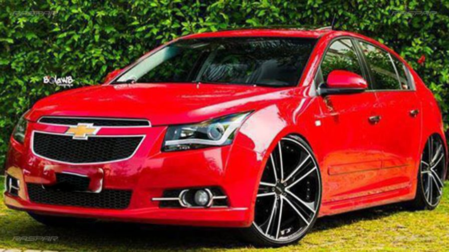 chevrolet cruze 2015 com rodas vittoria aro 20 e pneus. Black Bedroom Furniture Sets. Home Design Ideas